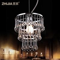 Modern brief fashion of luxury crystal lamp pendant light balcony lamps