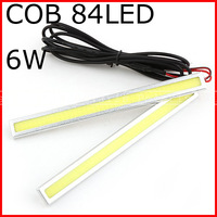 Waterproof cob 15w 17cm LED Car Daytime Running Light DRL Strip day running light lamp fog lights