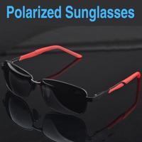 Factory Direct New Anti-Glare Sunglasses Mens Squared Polarized Sunglasses Wholesale Free Shipping