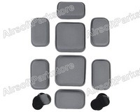 Airsoft Military Tactical Protective Pad for CP Style Helmet Grey helmet pads free shipping