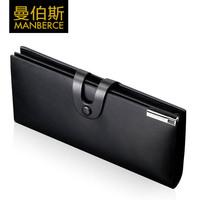 brand men's purse mens wallet men genuine leather long credit card holder man wallet carteira masculina cartera hombre monedero