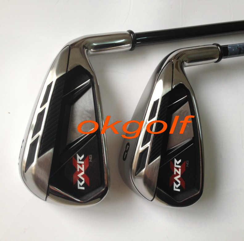 original golf clubs authentic RAZR X NG golf irons with graphite golf shafts cheaper price real golf clubs irons(China (Mainland))