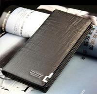 Man wallet long design wallet men's fashion commercial wallet