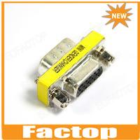 15 Pin SVGA VGA Male to Female Gender Changer Adapter
