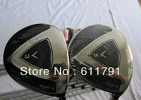 2013 new golf club stiff flex shaft fairway wood razr black x  3# 5# a set with headcover free shgipping