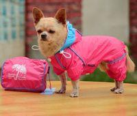 Fation NOBLE PUPPY/SMALL 4 LEGGED DOG/CHIHUAHUA  WATERPROOF RAIN COAT & Pocket 5 size