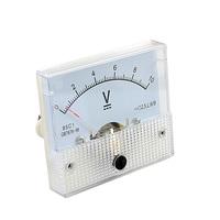 DC 10V Analog Panel Volt Voltage Meter Voltmeter Gauge 85C1 White