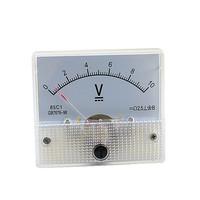 DC 20V Analog Panel Volt Voltage Meter Voltmeter Gauge 85C1 White