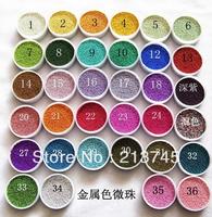 NEW!! 100g micro Rainbow fairy dust tiny glass clear balls for glass vials(0.8-1mm)