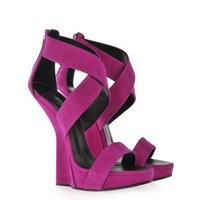 New 2014 Women Roman Sandals Classic Wedges High Heel Pumps Sandals Brand GZ Suede Sapatos Gladiator Shoes Plus Size