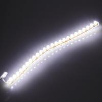 5 pcs Light Lamp Bulb DC 12V Hot!24 LED Strip Car Auto Motorcycle Flexible Grill