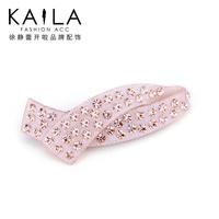 Kaila modern ol ccbt big diamond clip acrylic hair accessory new arrival
