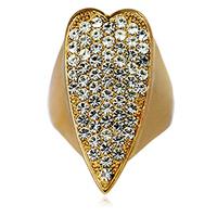 Kaila ring female heart diamond finger ring fashion index finger ring