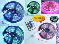 White pcb Taiwan chip 12V 3528 Non-waterproof LED Strip 60LEDs/M 5M/Roll rgb led strip Free Shipping