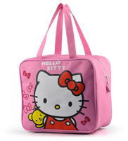 Hello Kitty Mickey Cartoon Lady Girl Children Outdoor Picnic Multi-use Lunch Box Bags
