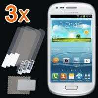 New 3x CLEAR LCD Screen Protector Guard Cover For Samsung Galaxy S3 S III mini i8190