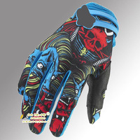 free shipping outdoor bicycle/cycling glove/ colors with black and blue  size M/L/XL