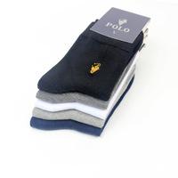 Men's Polo business sock 40pcs/20pairs/1lot  thermal male  brand Mid-tube socks men