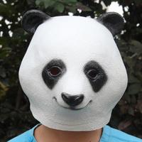 Halloween masks panda animal mask  eco-friendly latex party Masquerade mask free shipping