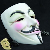 Halloween Mask High Quality exquisite resin craft V for Vendetta mask free shipping