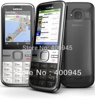 Refurbished Original C5 Unlocked Nokia C5-00 Mobile Phone Camera 5MP GPS Bluetooth Mobile Phone free shipping
