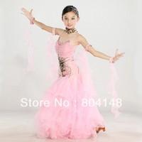 Kid's Ballroom Standard Smooth  Dress Child's  Latin Dance Performance Clothing  DWK38