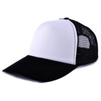 Black cap No advertising logo hat sun hat blank baseball caps custom truck cap Benn