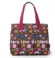 Hot Sale Women's Multifunctional Package Print Flower Messenger Bag Hologram  Shoulder Bag Beautiful Shopping Bag Female