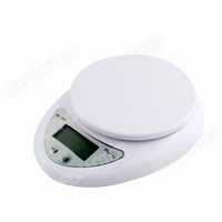 New 5KG/1G Digital LCD Electronic Kitchen Food Postal Scales