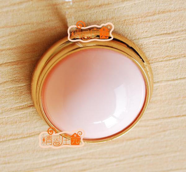 Doll house mini dollhouse furniture round white dome light brief(China (Mainland))