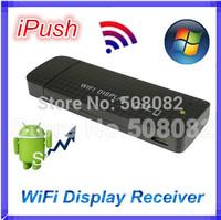 iPush Hi762 Full HD 1080P WiFi Display Dongle Stick HDMI Wireless PTV Support DLNA Miracast