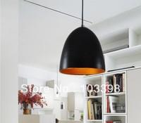 Wholesale high quality lights items design e27 E27*1 base 110V 220V D25*H28cm aluminum pendant lamps for home indoor lighting