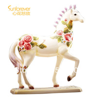 Horse star horse beige fashion home feng shui decoration furnishings crafts ceramics fashion