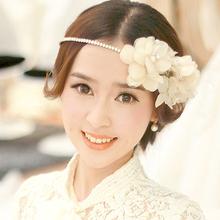 Handmade Crystal bridal flower  Hairbands,wedding hair accessories,tiaras wedding styling tools,Valentine's Day Gift q41