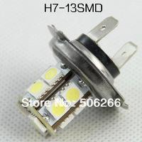 5050 H7 13SMD LED Car Fog Headlight Light Bulbs White  10PCS /pag H7 fog light