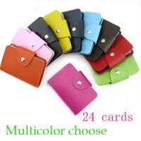 50G Retro Wool Felt 24 Card Bag Ladies Multi-card Bit Bus Bank Card Package Popular Credit Card Wallet Wholesale