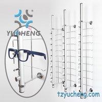 [YUCHENG]lockable slat wall optical frame bars display for eyewear  Y014-18