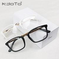 2014 top fasion real solid unisex hinggan vintage glasses box frame myopia ultra-light eyeglasses metal male j02 ancients