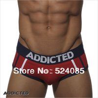 wholesale 4pcs/lot Brands addicted AD fashion sexy men's male HIpster trunks underpants underwear cuecas  da marca briefs