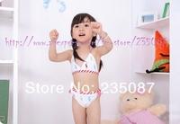 Retail (2-6Y) wholesale kids polo design Girls Swimwear girl's bikini swimsuit, kids swimwear Children Swimsuit Free shipping