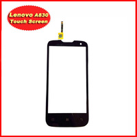 1PCS Original New Touch Screen With Digitizer Front Glass Replacement For Lenovo A830 Black Free Shipping