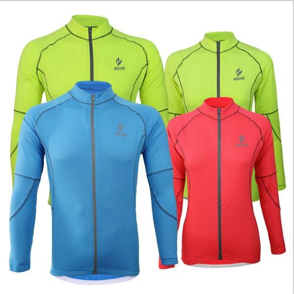 Polyester Lycra men cycling bike bicycle running bicycle bicicletas long sleeves jersey shirts wear top clothes(China (Mainland))