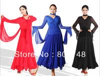 Ballroom Dance Standard Smooth Waltz Dress Performance Wear DW0520-50