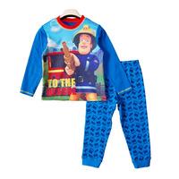 2014 children's clothing male child small 100% fireman sam Clothing Sets boys cotton long-sleeve t-shirt set free shipping