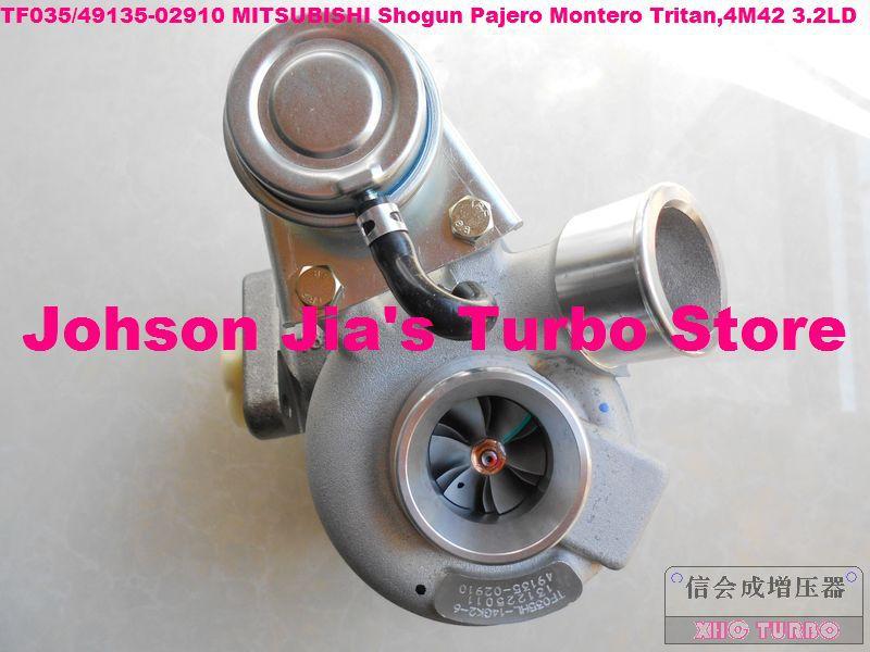 NEW TF035HL-14GK2-6/49135-02910 Turbocharger for MITSUBISHI Shogun Pajero Montero Tritan,Engine:4M42 3.2LD 170HP(China (Mainland))