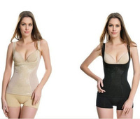 Lady's Slim Underwear Slimming Vest/ waistcoat Breathable body shaper  Push Up BREAST Size L to 5XL