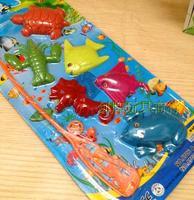 Swimming toys small fishing equipment 6 small animal yiwu commodity child