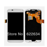 White For Motorola Moto X XT1056 XT1053 LCD Screen Digitizer Touch + Faceplate+ Frame
