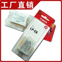 Digital Camera Rechargeable Li-ion Battery LP-E8 LP E8 LPE8 for CANON 550D 600D b366