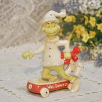Lenox ceramic Grinch 24k gold christmas gift home decoration housewarming gift decoration